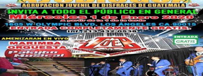 Todos  Invitados Este miercoles 1 de Enero 2020 Gran evento en el parqueo de la Curacao en los Angeles California
